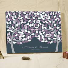 bridal shower guestbook customized wedding tree fingerprint guest book alternative