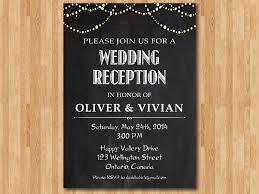 Post Wedding Invitations Wedding Reception Invitations