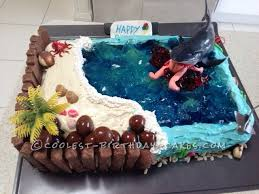 awesome hungry shark birthday cake shark birthday cakes