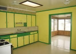 bright yellow u0026 green kitchen u2013 ugly house photos