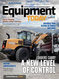 equipment today december 2016 by forconstructionpros com issuu