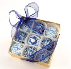hanukkah box of 9 dipped u0026 decorated oreo cookies