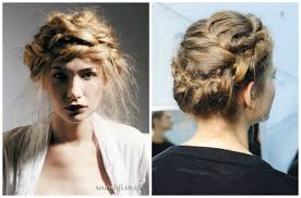 hair braid across back of head 10 easy hair ideas for this summer alux com
