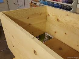 diy storage ottoman plans finelymade furniture