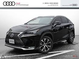 lexus nx used 2016 pre owned 2016 lexus nx 200t 6a in mississauga a17150at