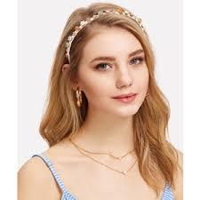 thick headbands embellished headbands polyvore