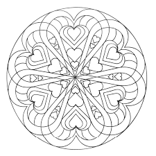 heart coloring pages for adults justcolor