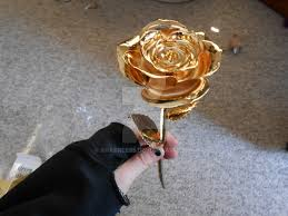 gold dipped roses 24 karat gold dipped s day 2013 by shabree95 on