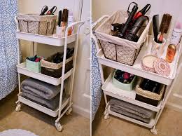 bathroom organizers ideas how to organize your apartment bathroom via bymandygirl