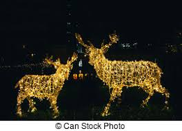 Deer Christmas Lights Picture Of Bright Christmas Lights In A Cactus Garden A Desert