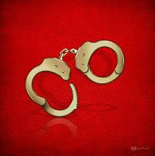 gold handcuffs on red leather background digital art by serge averbukh golden handcuffs digital art gold handcuffs on red leather background by serge averbukh