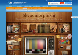 pros and cons of skeuomorphism infographics visual ly