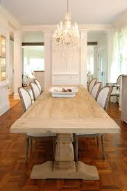 new york octagon dining table room shabby chic style with