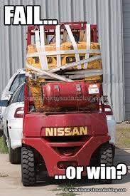 Heavy Equipment Memes - forklift fail or forklift win bismarck mandan blog