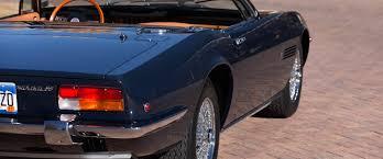 maserati dark blue 1972 maserati ghibli