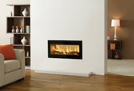 wood burning wall studio duplex inset wood burning fires