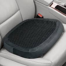 memory foam car seat cushion cover velcromag