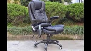 Office Chair Black Leather Massage And Heat Office Chairs With Massage And Heat Office Chair