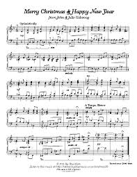 9 christmas piano sheet music free download images