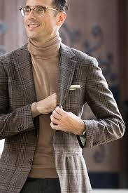 why a turtleneck works as business casual attire he spoke style