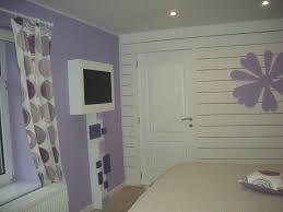 peinture chambre mauve et blanc chambre violette et grise dcoration chambre violet prune with