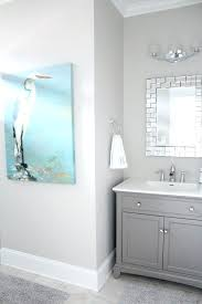 best paint color for bathroom with no natural light black white