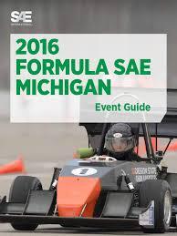 2016 formula sae michigan event guide suspension vehicle