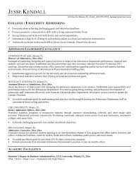 resume for college application objectives college resume objectives best resume collection