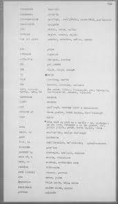 daisy bates vocabulary