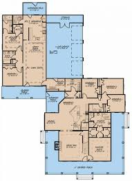 house with inlaw suite uncategorized house plan with in suites notable inside
