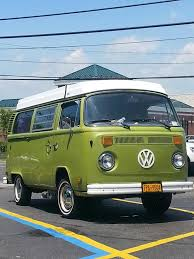 green volkswagen van green van u2013 mark spizzirri u0027s blog