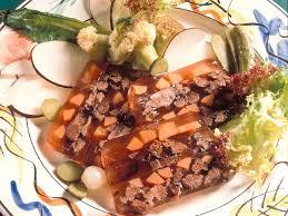 cuisiner la queue de boeuf terrine de queue de boeuf recettes cuisine française
