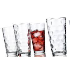 home essentials 10pc eclipse glass set