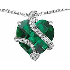 heart shaped emerald necklace images Emerald necklaces jpg