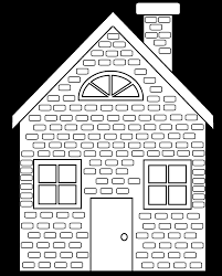 brick house colouring pages throughout brick red coloring pages