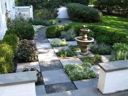 Walkway Garden Ideas A Charming Checkerboard Path Schmechtig Landscapes
