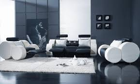 New Modern Black And White by Sofa Unusual Black And White Leather Reclining Sofa Momentous