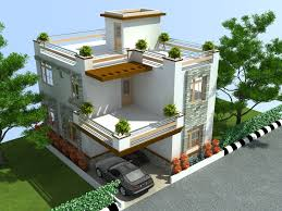 duplex house plan and elevation sq ft kerala home including