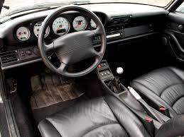 porsche rwb interior 1995 porsche 911 carrera 4s 3 6 coupe 993 4 s interior g
