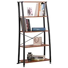 amazon com altra furniture metal frame bundle bookcase ladder