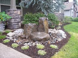 Water Fountains For Backyards by Best 25 Stone Water Features Ideas On Pinterest Water Features