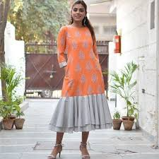 dress pattern of gujarat inspired from the naliya craft of kutch in gujarat this dress has