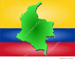 Colombian Map Map Of Columbia Image