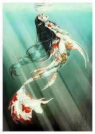 koi mermaid shared aquatails quality mermaid tails swimming