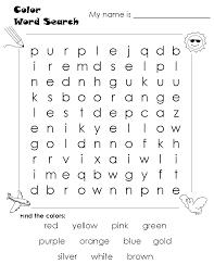 Free Word Search Worksheets Sopa De Letras Colores En Ingles Para Imprimir Buscar Con Google