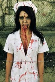 Zombie Halloween Costumes Adults Bloodbath Betty Zombie Nurse Halloween Costume Costume Ideas