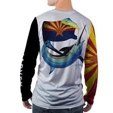 Az State Flag Arizona State Flag Long Sleeve Performance Shirt
