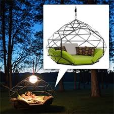 kodama zome kodama zomes a swinging pod to hang from a tree or free standing