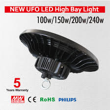 best high bay shop lights high lumens 150w 200w ufo led high bay light industrial l 90 265v