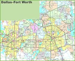 Brandeis Map Ft Worth Map My Blog